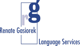 Renate Gasiorek Language Services - Logo